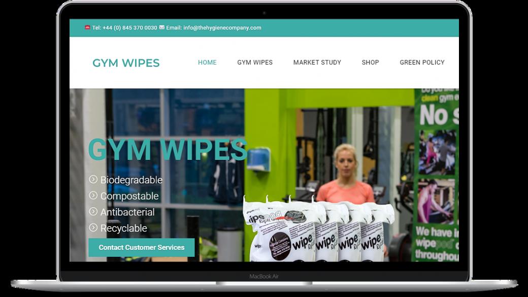 gym wipes hygiene
