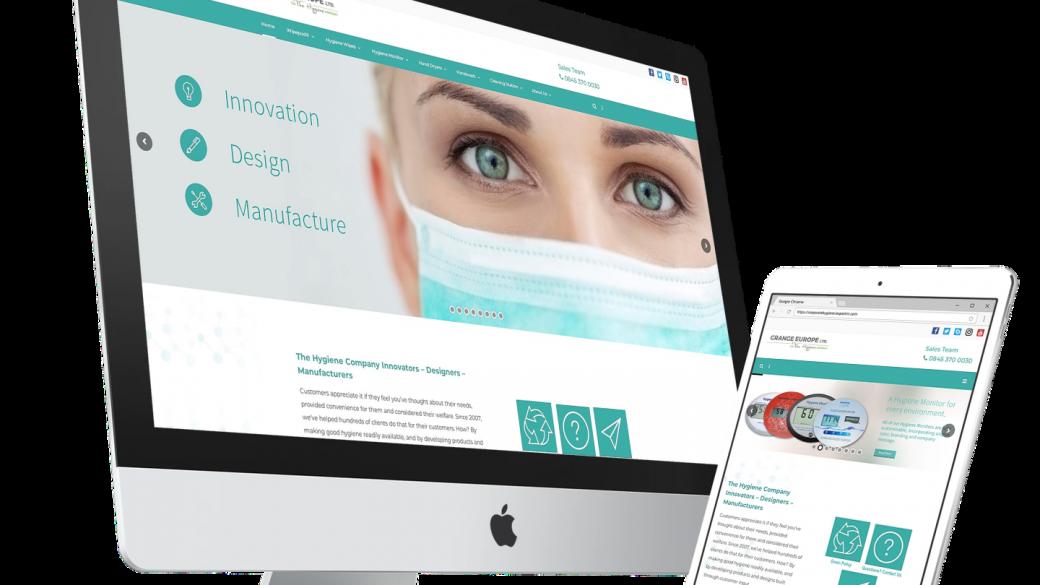 the-hygiene-company-website